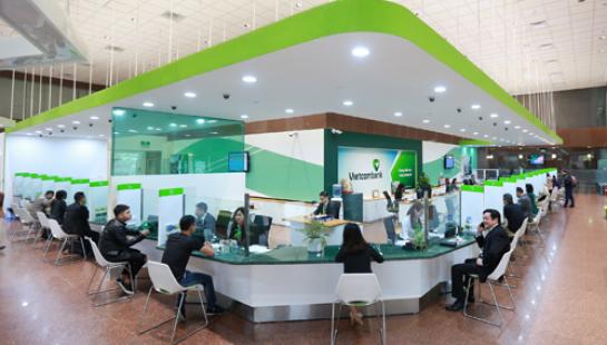 Vietcombank giảm phí chuyển tiền liên ngân hàng